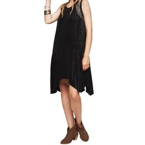 Free People Black Polka Dot Lace Dress